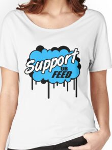 League of Legends: Support or Feed Women's Relaxed Fit T-Shirt