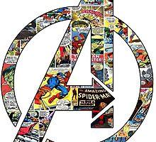Avengers symbol by fedeminardi