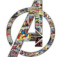 Avengers symbol Photographic Print