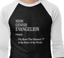 Neon Genesis Evangelion Episode 26 Men's Baseball ¾ T-Shirt