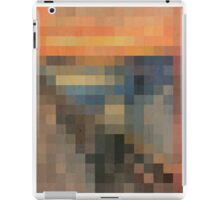 pixel scream iPad Case/Skin