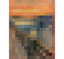 pixel scream Photographic Print