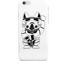 Lucky Trooper Cat iPhone Case/Skin