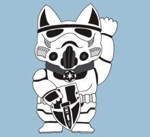 Lucky Trooper Cat Kids Tee