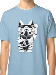 Lucky Trooper Cat Classic T-Shirt