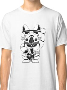 Lucky Trooper Cat Classic T-Shirt