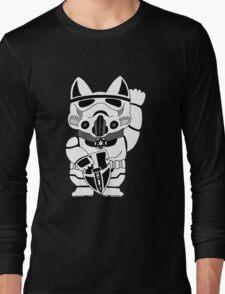 Lucky Trooper Cat Long Sleeve T-Shirt