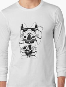 Lucky Trooper Cat Long Sleeve T-Shirt