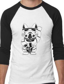 Lucky Trooper Cat Men's Baseball ¾ T-Shirt