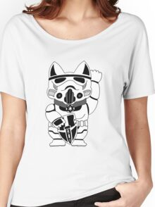 Lucky Trooper Cat Women's Relaxed Fit T-Shirt