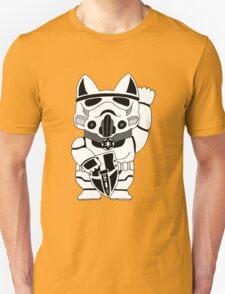 Lucky Trooper Cat Unisex T-Shirt
