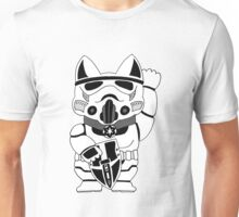 Lucky Trooper Cat Unisex T-Shirt