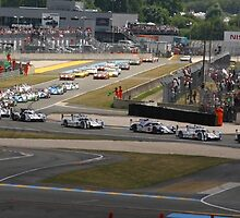 24 Hours of Le Mans by Glen Olsen
