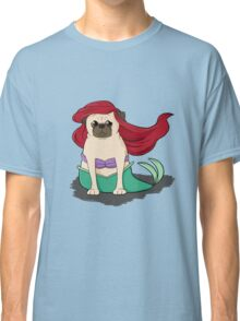 The Little Mer-Pug version 2 Classic T-Shirt