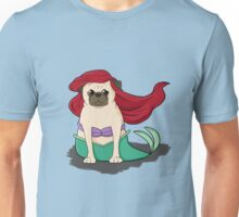 The Little Mer-Pug version 2 Unisex T-Shirt