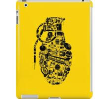 BOOM! -black- iPad Case/Skin