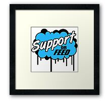 League of Legends: Support or Feed Framed Print