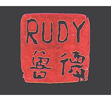 RUDY STAMP Photographic Print