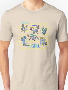 """Not Just Clever Girls"" Velociraptors T-Shirt"