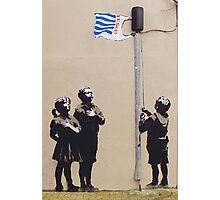 In Tesco We Trust by Banky Photographic Print