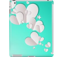 Paper Hearts and Stars iPad Case/Skin
