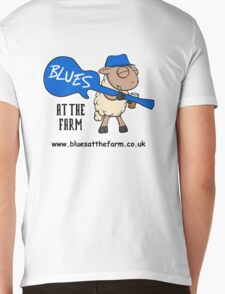 Blues At The Farm - The Bestest Little Blues Club in Essex Mens V-Neck T-Shirt