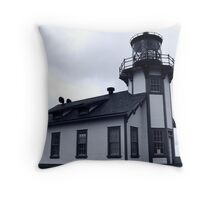 Point Cabrillo lighthouse Throw Pillow