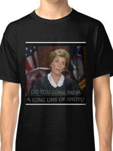 Long Line of Idiots Classic T-Shirt