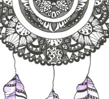 Watercolor and Ink dreamcatcher Sticker