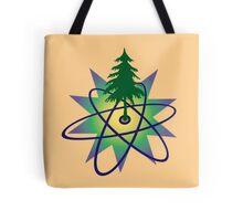 Atomic Pine Tote Bag