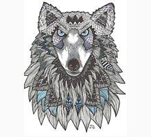 Watercolor Totem Mandala Wolf Women's Tank Top