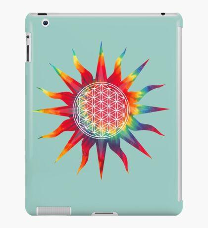 Flower of Life (tie-dye sun) iPad Case/Skin