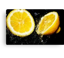 Lemon fresh Canvas Print