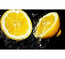 Lemon fresh Photographic Print
