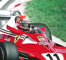 Ferrari f1 vintage by kolalo