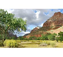 Zion Afternoon Photographic Print