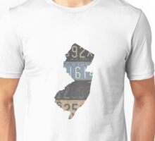 Vintage New Jersey License Plates Unisex T-Shirt