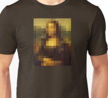 mona pixel lisa Unisex T-Shirt