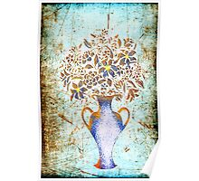 Rustic Bouquet Poster