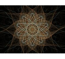 Atom Star Photographic Print