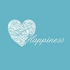 Happiness Squiggle Heart by Prettyinpinks