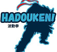 Street Fighter - Ryu - Hadoken by Victor-Velocity