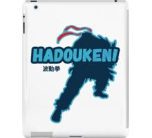 Street Fighter - Ryu - Hadoken iPad Case/Skin