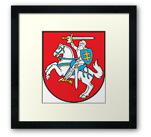 Lithuanian Coat of Arms Framed Print