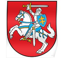 Lithuanian Coat of Arms Poster