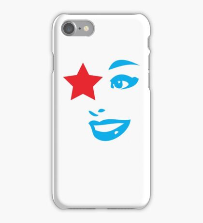 Vintage Star lady - fashionable and sexy iPhone Case/Skin