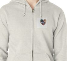 Love Fruits and Vegetables  Zipped Hoodie