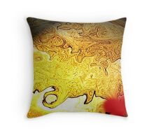 Solar Flare © Throw Pillow