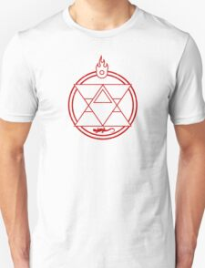 Flame Transmutation Circle Unisex T-Shirt