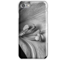 Monochrome Easter Lily iPhone Case/Skin